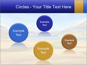 A blue lake PowerPoint Template - Slide 77