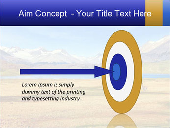 A blue lake PowerPoint Template - Slide 83