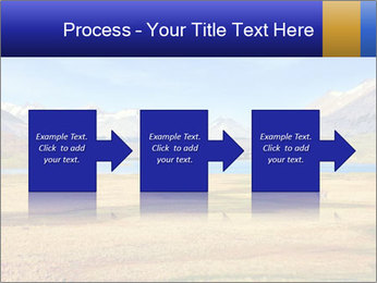 A blue lake PowerPoint Template - Slide 88