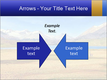 A blue lake PowerPoint Template - Slide 90