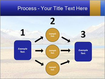 A blue lake PowerPoint Template - Slide 92