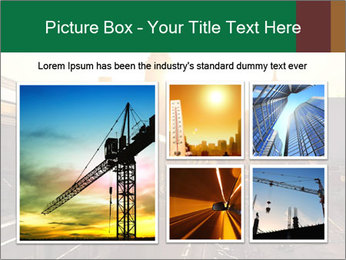 A bright orange sunset PowerPoint Templates - Slide 19