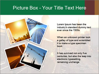 A bright orange sunset PowerPoint Templates - Slide 23