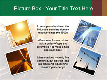 A bright orange sunset PowerPoint Templates - Slide 24