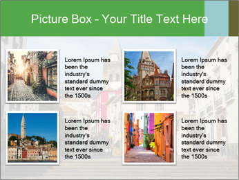 The old historic town PowerPoint Template - Slide 14