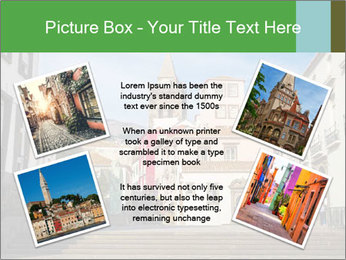 The old historic town PowerPoint Template - Slide 24