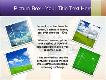 Wind turbine PowerPoint Templates - Slide 24
