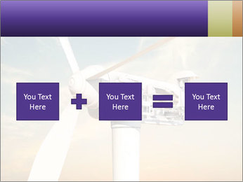 Wind turbine PowerPoint Templates - Slide 95