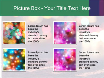 Night lights in city PowerPoint Templates - Slide 14