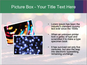 Night lights in city PowerPoint Templates - Slide 20
