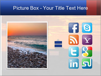 Orange sunset PowerPoint Templates - Slide 21