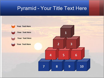 Orange sunset PowerPoint Templates - Slide 31