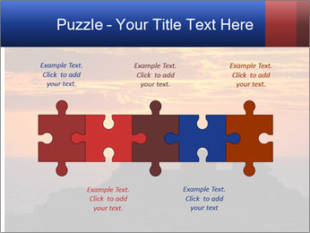 Orange sunset PowerPoint Templates - Slide 41