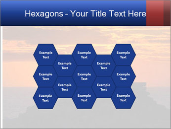 Orange sunset PowerPoint Templates - Slide 44