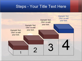 Orange sunset PowerPoint Templates - Slide 64