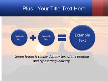 Orange sunset PowerPoint Templates - Slide 75
