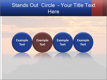 Orange sunset PowerPoint Templates - Slide 76