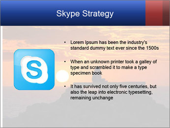Orange sunset PowerPoint Templates - Slide 8