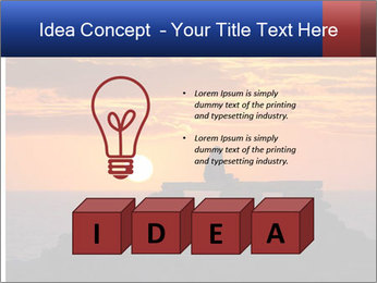 Orange sunset PowerPoint Templates - Slide 80