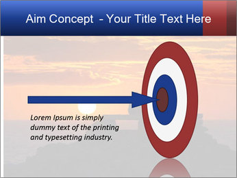 Orange sunset PowerPoint Templates - Slide 83