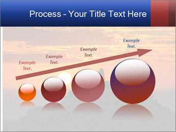 Orange sunset PowerPoint Templates - Slide 87