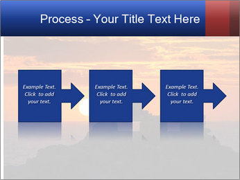 Orange sunset PowerPoint Templates - Slide 88