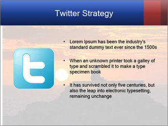 Orange sunset PowerPoint Templates - Slide 9