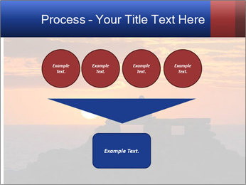 Orange sunset PowerPoint Templates - Slide 93