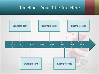 Fast Santa PowerPoint Template - Slide 28