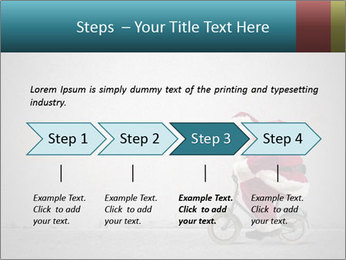 Fast Santa PowerPoint Template - Slide 4
