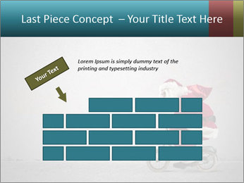 Fast Santa PowerPoint Template - Slide 46