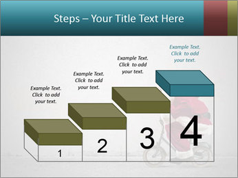 Fast Santa PowerPoint Template - Slide 64