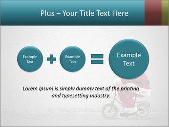 Fast Santa PowerPoint Template - Slide 75