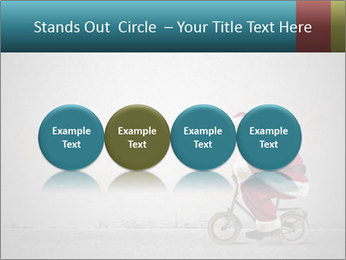 Fast Santa PowerPoint Template - Slide 76