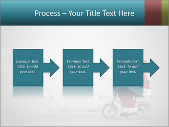 Fast Santa PowerPoint Template - Slide 88