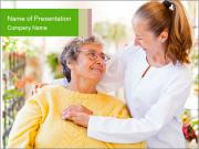 Home care services PowerPoint Templates