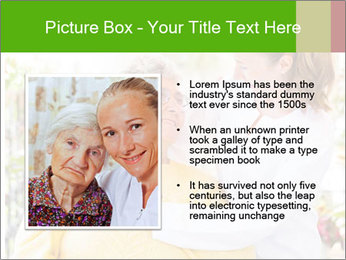 Home care services PowerPoint Template - Slide 13