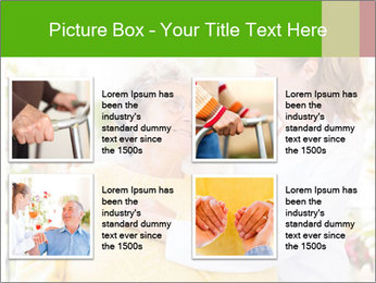 Home care services PowerPoint Template - Slide 14