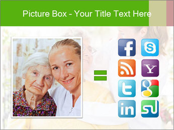 Home care services PowerPoint Template - Slide 21