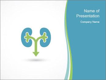 Kidneys symbol PowerPoint Template - Slide 1