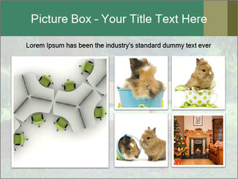 Park bench under tree PowerPoint Template - Slide 19
