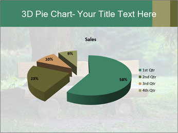 Park bench under tree PowerPoint Template - Slide 35