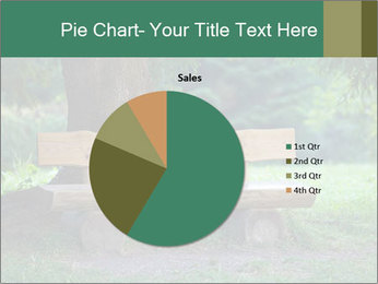 Park bench under tree PowerPoint Template - Slide 36