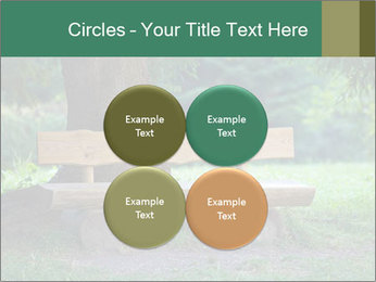 Park bench under tree PowerPoint Template - Slide 38