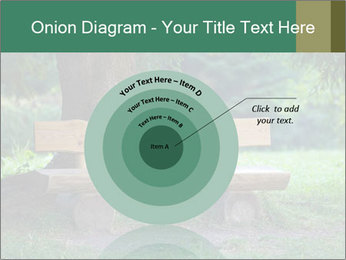 Park bench under tree PowerPoint Template - Slide 61