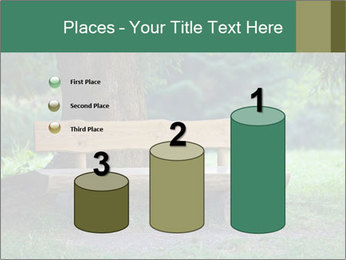 Park bench under tree PowerPoint Template - Slide 65