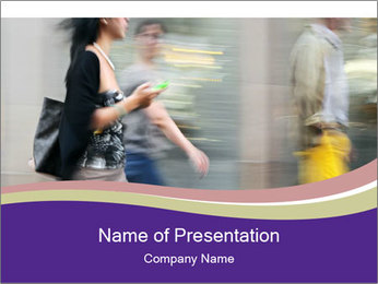 Shopping PowerPoint Template - Slide 1
