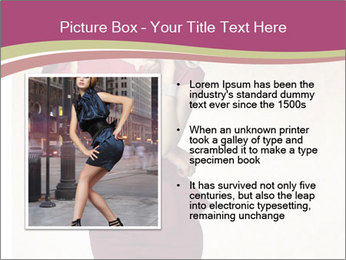 Attractive girl PowerPoint Templates - Slide 13