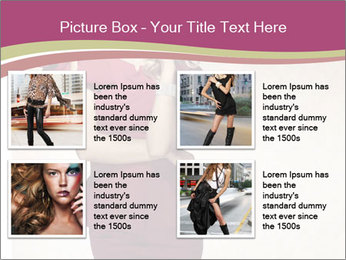 Attractive girl PowerPoint Templates - Slide 14