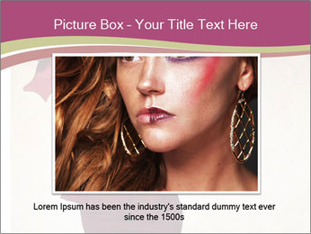 Attractive girl PowerPoint Templates - Slide 15